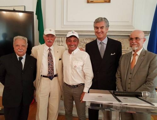 Andrea Mura dal Console Generale d'Italia a New York